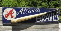 Atlanta Braves Baseball Sign.