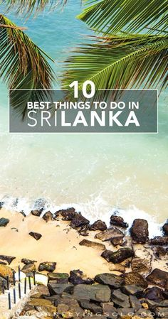 The 10 Best Things to do in Sri Lanka! Dream Big Travel More // Dream Big Live Tiny // Things to Do in Sri Lanka // Places to See in Sri Lanka // Must Do in Sri Lanka Places To Travel, Travel Destinations, Travel Tips, Places To Visit, Travel Guides, Travel Books, Travel Journals, Sri Lanka Photography, Travel Photography