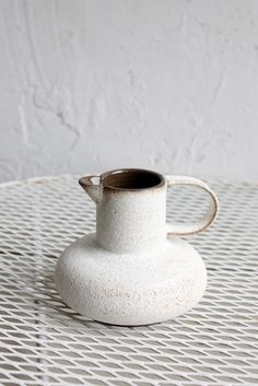 Object and Totem Door Knob Pitcher | Remodelista & Billy Cotton White | goods + gifts | Pinterest | White dinnerware ...