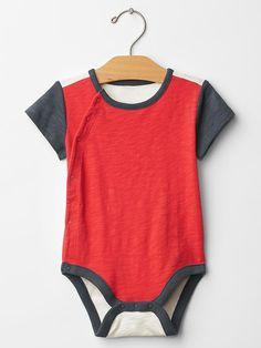 Americana colorblock bodysuit