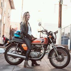 """motomood: """"Honda CB360 """""""