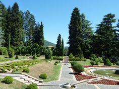 The park at Villa Toeplitz.