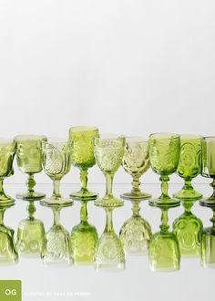 Olive Goblets // Casa de Perrin