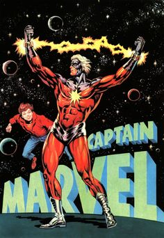 Captain Marvel - Jean Frisano