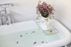 relax...wishing for a claw foot tub!