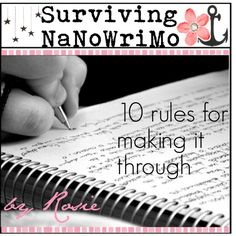 Tomorrow, I will embark on my third journey through NaNoWriMo, one of the craziest, exciting, and mentally challenging months of my year. There are times I love...