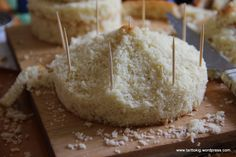 Tutorial - carousel cake