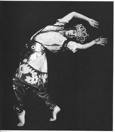Tamara Karsavina in Le Coq D'or, Ballets Russes