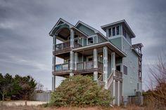 Outer Banks Vacation Rentals | Waves Vacation Rentals | ZEN #551 |  (6 Bedroom Semi-Oceanfront House)