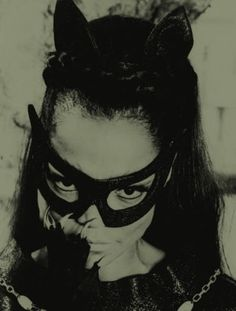 Eartha Kitt was the third actress to play a live-action Catwoman. Of course, the first three women to play this character (Julie Newmar being first; Lee Meriwether second) all played her on the Batman series. Classic Hollywood, Old Hollywood, Eartha Kitt Catwoman, Nananana Batman, Batman Tv Series, Catwoman Cosplay, Julie Newmar, Batman 1966, Batman Arkham