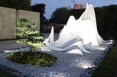 HI-MACS® in award winning Zen enigma at Chelsea Flower Show