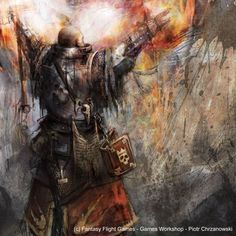 Priest of Sigmar by chrzan666.deviantart.com on @DeviantArt