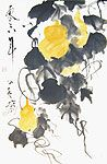 Chinese flower paintings - Gourds