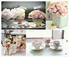 tea cup candles tea cup vases beautiful roses