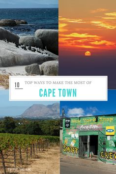 Cape Town South Africa   Things To Do In Cape Town   Restaurants   Food   Travel   Camps Bay   Table Mountain   Boulders Beach   V&A Waterfront   Photography   Winelands   Lion Head   Sunsets   Beach
