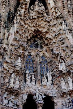 Sagrada Familia, Entrance