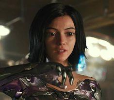 Battle Angel Alita Movie, Angel Movie, Female Superhero, Marvel Characters, Fictional Characters, Images Gif, Wonder Woman, Actresses, Actors