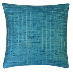 Have to have it. Jiti Streams 20 x 20 in. Pillow - $93.99 @hayneedle