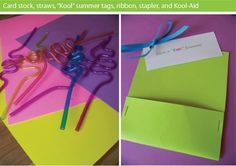 """End of Year- I think these would be cool for the teacher aides and put """"thanks for being a kool aide!"""""""