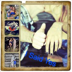 Engagement picture ideas!
