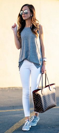 <3 WHITE <3 TROUSER <3 42 Most Repinned Spring Outfits Ever