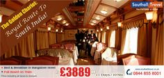 Exclusive deals on an 11 days tour on The Golden Chariot - Pride of the South. Prices starting £3889. Call now for bookings! http://www.southalltravel.co.uk/holidays-india/the-golden-chariot.aspx