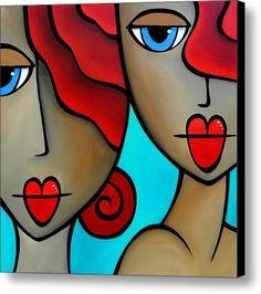 Sister Act By Thomas Fedro Canvas Print / Canvas Art By Tom Fedro - Fidostudio