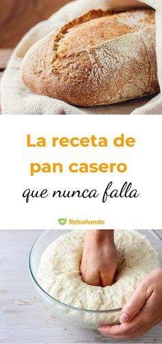 This bread recipe works even for those who have no idea of ​​bakery Tortilla Pan, Bread Recipes, Cooking Recipes, Bon Dessert, Pan Bread, Food Words, Mexican Dishes, Naan, Bakery
