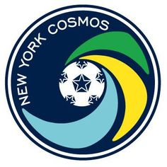 New York Cosmos Primary Logo on Chris Creamer's Sports Logos Page - SportsLogos. A virtual museum of sports logos, uniforms and historical items. Football Team Logos, Soccer Logo, Sports Team Logos, Us Soccer, World Football, Sports Teams, Football Soccer, North American Soccer League, Major League Soccer