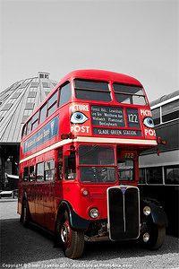 London Pictures, Old Pictures, London Transport, Public Transport, Rt Bus, Routemaster, Double Decker Bus, Bus Coach, London Bus