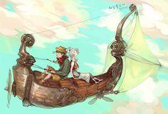 Skyfish, JUHAN NA on ArtStation at https://www.artstation.com/artwork/skyfish