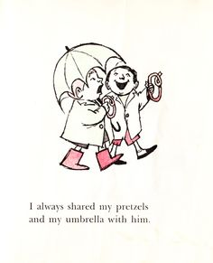 Let's Be Enemies: A Vintage Maurice Sendak Treasure | Brain Pickings
