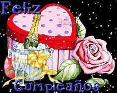 gracias por tus bellos mensajes photo: Felicidades FelizCumple2.gif