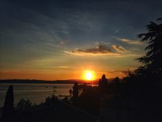 #Sunset @ Sirmione