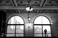 Chicago Cultural Center Engagement Photos! Creative engagement pictures for those that love the Chicago architecture! Chicago Engagement Photographer - Nakai Photography http://www.nakaiphotography.com