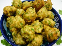 """These tasty morsels are generally served as a snack with drinks - usually hot, with or without a dip. Recipe in """"South African Cooking in the USA"""", page South African Dishes, South African Recipes, Indian Food Recipes, Indian Foods, Indian Snacks, Kos, Savory Snacks, Healthy Snacks, Appetisers"""