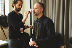 NYFW Men's: Backstage at Duckie Brown Fall 2016 - -Wmag