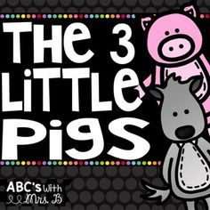 Check out this FREEBIE to get your students thinking a bit deeper about The Three Little Pigs. There are few different activities in this product that involve reading strategies, such as: character traits, compare and contrast, and asking questions.Also, there is an opinion piece for students to write if you are using The True Story of the Three Little Pigs to discuss the Wolf's perspective.