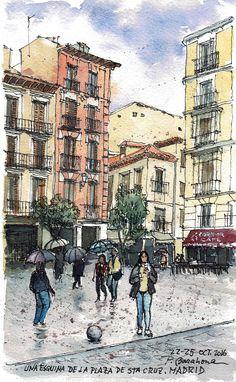 Plaza de Sta Cruz. Madrid                                                                                                                                                                                 Plus