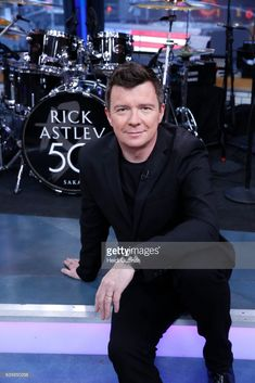 AMERICA - Rick Astley performs live on 'Good Morning America,' Wednesday, February 15, 2017 on the ABC Television Network. RICK