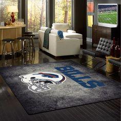Buffalo Bills Rug NFL Team Distressed Area Rug - Fan Rugs