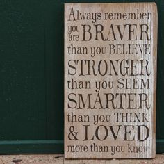 Always remember rustic sign - Vinyl Wall Decals & Stickers