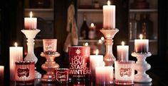 Gezellig winter kaarsen