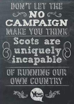 Scottish Independence Referendum - Scotland YES! 2014