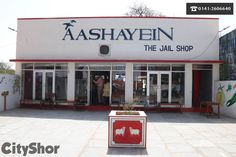 "central jail authorities have opened ""Aashayein the Jail Shop"". #prison #bedspreads #pickles #organicmasalas #Fruits #Vegetables #AashayeinTheJailShop #CityShorJaipur"