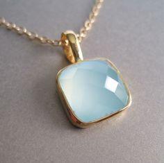 Gold Vermeil Pendant Necklace