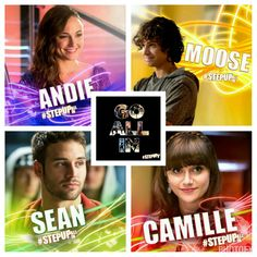 I just love them in every posible way ! Moose Step Up, Step Up 3, Step Up Movies, Step Up Revolution, Hip Hop, Childhood Movies, Just Love, Hollywood, Celebs