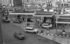 Ilyen is volt Budapest - Baross tér, Keleti pályaudvar indulási oldal Fuel Truck, Budapest Hungary, Gas Station, Retro Vintage, Street View, Cold War, Landscape, Arch, Beautiful