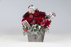 Game Night, DIY Flower arranging kit using Flowers by Number