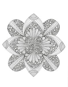 Creative Coloring Mandalas Adult Coloring by KaysCraftSupplies